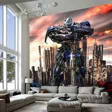 transformers bedroom transformers wallpaper optimus prime photo wallpaper custom 3d wall