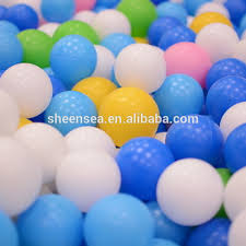 ldpe 38mm white plastic pit balls for buy white
