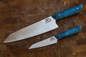 custom kitchen knives here are some custom kitchen knives i ve made album on imgur