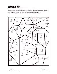 free math puzzle worksheets worksheets