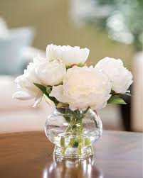 flower centerpieces capture permanent garden beauty with peony silk flower centerpiece