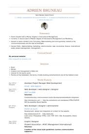 Resume Sample For Assistant Manager by Assistant Project Manager Resume Samples Visualcv Resume Samples