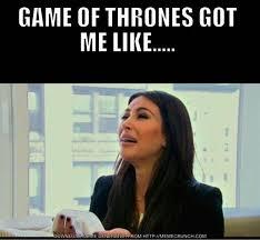 Door Meme - game of thrones got me like hold the door know your meme