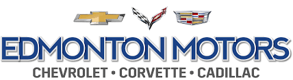 logo cadillac your preferred chevy dealer in alberta edmonton motors