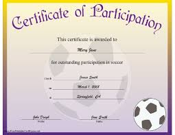 doc 1040720 soccer certificate template u2013 soccer award