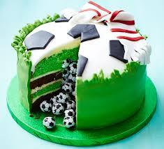 football cakes piñata football cake recipe food