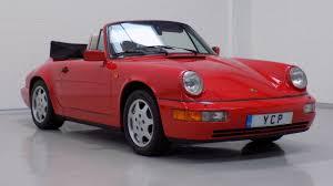 1990 porsche 911 convertible used porsche 911 911 964 carrera 2 cabriolet for sale in york north
