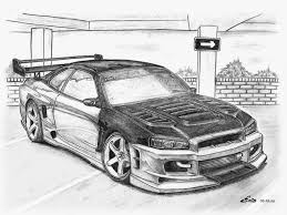 nissan skyline price in pakistan картинки по запросу nissan skyline gtr r34 drawing car