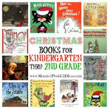 mom to 2 posh lil divas 12 christmas books for kindergarten thru