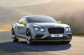 bentley car bentley continental gt speed revised to make 633 hp