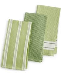Waffle Weave Kitchen Towels by Savings On Martha Stewart Collection 3 Pc Waffle Weave Kitchen