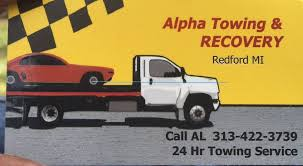 Tow Truck Business Cards Alpha Towing U0026 Recovery U0026 Repair Towing 4219 Bethlehem Pike