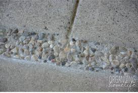 Sand Cement Mix For Patio Updating An Outdated Patio With Pea Gravel Organizing Homelife