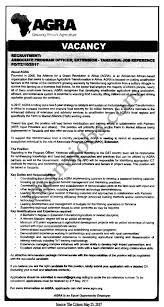 quote job reference associate program officer tayoa employment portal