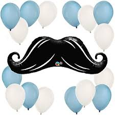 baby shower mustache dashing baby shower decorations theme