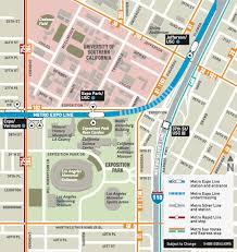 Metrorail Map Go Metro To Ucla Usc Football The Source