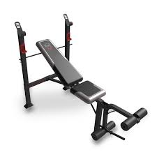 Weight Bench With Bar - cap barbell fm 7230 steel framed strength standard bench with leg