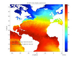 temperature map of florida gulf of maine meet gulf of mexico razorbills and others invade