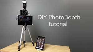 cheap photo booth diy photo booth with live image