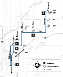 Greyhound Bus Routes Map by 5 E 25th St Indygo