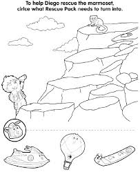 free worksheets kid diego coloring pages coloring