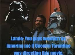 Lando Calrissian Meme - star wars meme the force awakens myfreedo