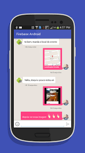 chat android the android arsenal messaging firebase android chat