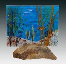 Rock Cottage Glassworks by Pezzulich Glassworks Landscapes Of Glass