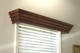 Fabric Covered Wood Valance Window Cornices Window Treatments Window Decorating Ideas