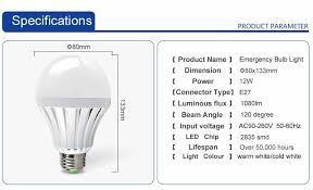aliexpress com buy new 3w 5w 7w 9w 12w led emergency light