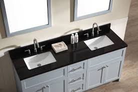 bathroom vanity countertops double sink ariel hamlet 73 double sink vanity set with absolute black granite