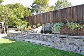 Retaining Wall Landscaping Ideas Stone Wall Landscaping Ideas U2013 Erikhansen Info