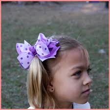big hair bows boutique big purple toned hair bow will be a favorite for your