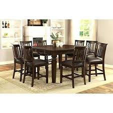 dining room set modern modern 9 piece dining set dining room inspiring 9 piece dining room