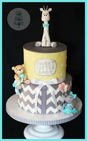 giraffe baby shower cake best 25 elephant and giraffe baby shower ideas on
