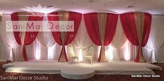 wedding backdrop simple venues
