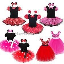 Minnie Mouse Halloween Costume Toddler Minnie Mouse Toddler Costume Ebay