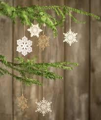 santa lucia wood snowflake ornaments churchmouse yarns teas