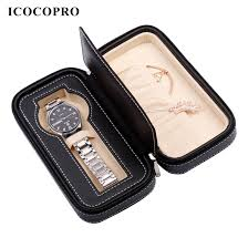 leather necklace gift box images Icocopro jewelry storage box watch gift box women men necklace jpg