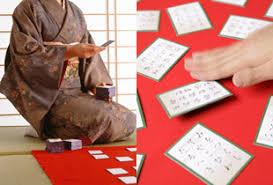 hyakunin isshu karuta japanese traditional poetry card 1
