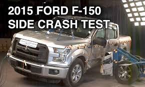 2015 ford f 150 supercrew crash test side youtube