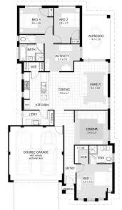 beautiful unique 3 bedroom house plans new home plans design