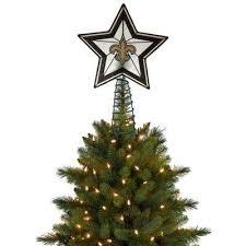 orleans saints star treetopper