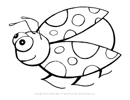 preschool coloring pages bugs ladybug coloring pages for adults heartscollective co