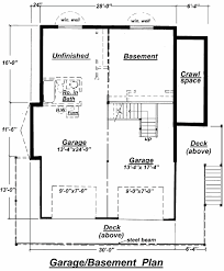house plan with basement c 511 unfinished basement floor plan from creativehouseplans