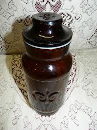 vintage glass canisters kitchen 9 best vintage kitchen canisters images on kitchen