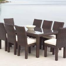 Wicker Outdoor Patio Furniture New Wicker Outdoor Dining Table Finologic Co