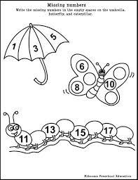 spring worksheets for kindergarten free worksheets library