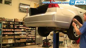 How To Install Replace Remove Rear Bumper Cover Honda Civic 01 05