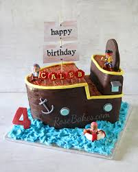 pirate ship cake behance
